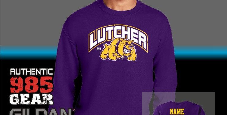 Lutcher Bulldogs Crew Neck Sweatshirt