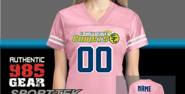SCC Ladies Stripe Pink Replica Jersey
