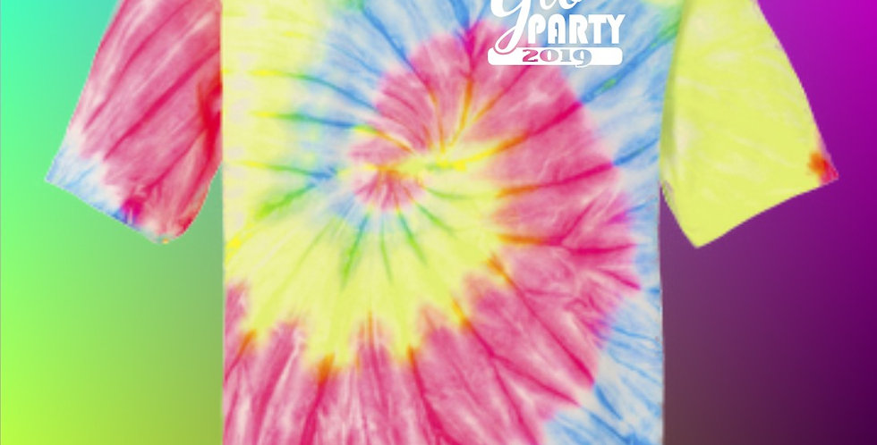 Glo Party Tie Dyed T-Shirt