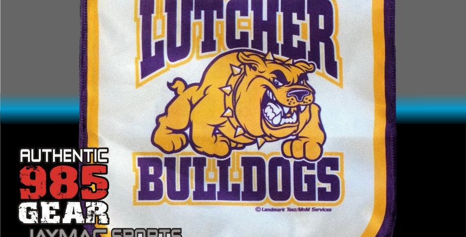 Lutcher Bulldogs Garden Flag