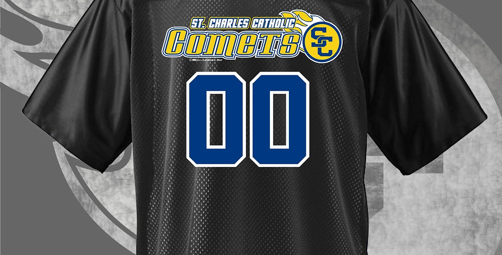 SCC Black Mens Jersey (Name & Numbers)