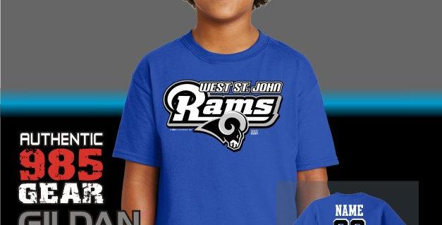 "WSJ ""STL"" Royal Youth T-Shirt"