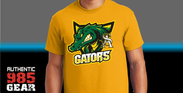 "STA ""Gator Shield"" Gold T-Shirt"