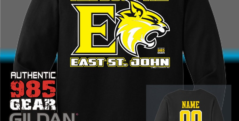 "ESJ ""All Bout The E"" Black Longsleeve T-Shirt"