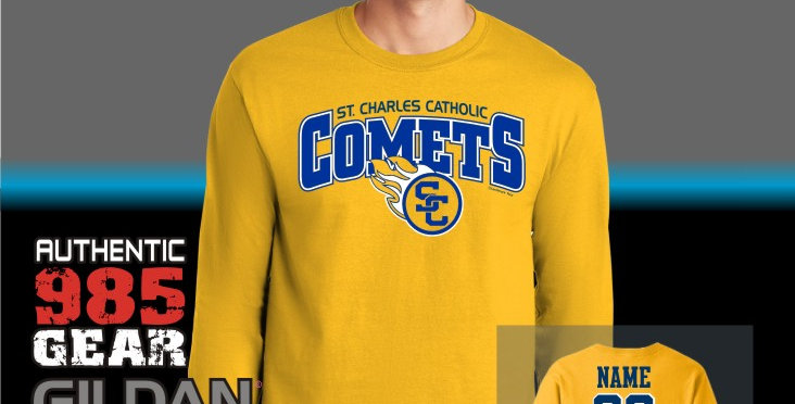 SCC Gold Longsleeve T-Shirt