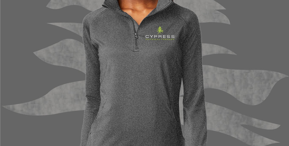 Cypress Physical Therapy Ladies 1/2 Zip Pullover