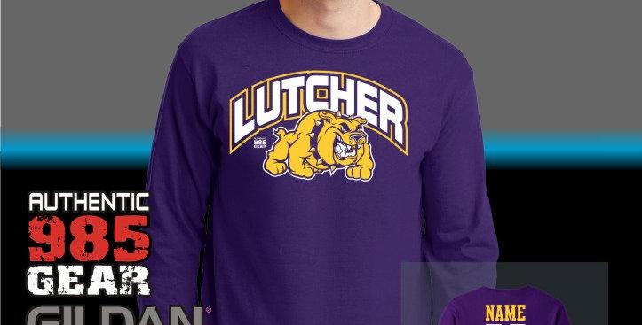 Lutcher Purple Longsleeve T-Shirt