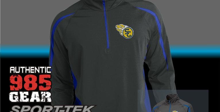 SCC 1/2 Zip Colorblock Pullover