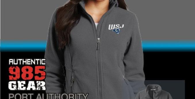 WSJ Ladies Iron Grey Fleece Jacket