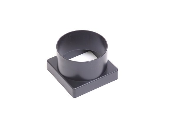 Square to Round Pipe Adaptor 110mm