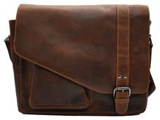 ledertasche für herren in rotbraun farbe | greenwood leder