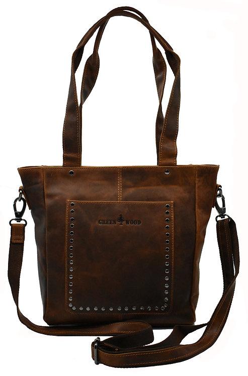 Dori Damentasche Leder Umhängetasche Shopper Tasche Vintage