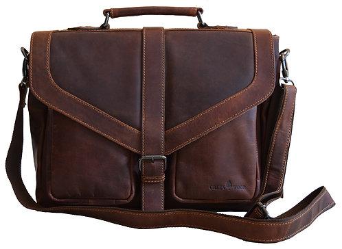 Benjamin Vintage Aktentasche Damen Bürotasche Herren Echt Leder