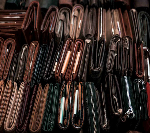 Portemonnaie für Damen und Herren aus Leder | Greenwood Ledertasche