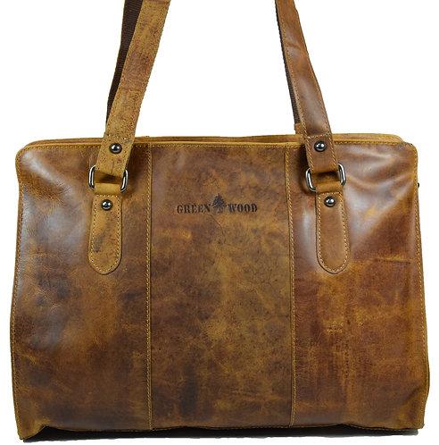 Madison Handtasche Damen Henkeltasche Leder Shopper Tasche