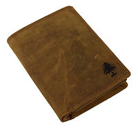 Leder Portemonnaie für Männer in Camel Farbe | Greenwood Ledertasche
