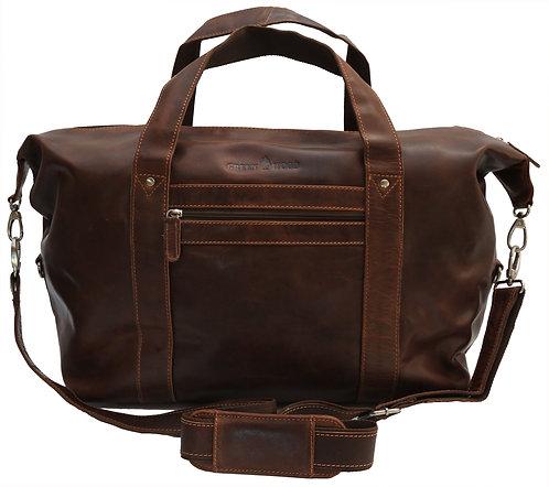 Vince Handgepäck Tasche Reisetasche Leder Damen Weekender Bag