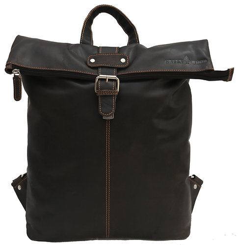 Modern Rucksack für Damen aus Echtleder.