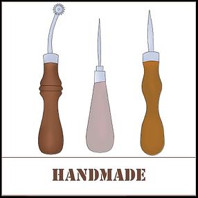 Handmade leder produkt, handgemacht tasche | greenwood leder