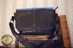 vintage handtasche braun aus leder | greenwood leder
