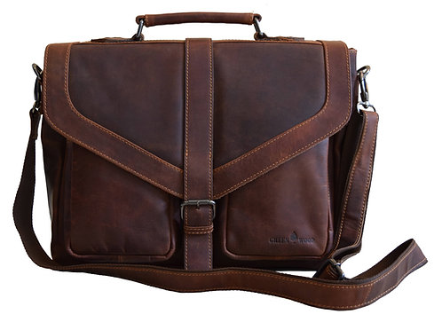 Vintage Aktentasche aus Leder für Herren günstig kaufen