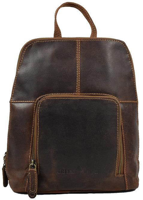 Kirsty Kleiner Rucksack Damen Lederrucksack Vintage Daypack Leder