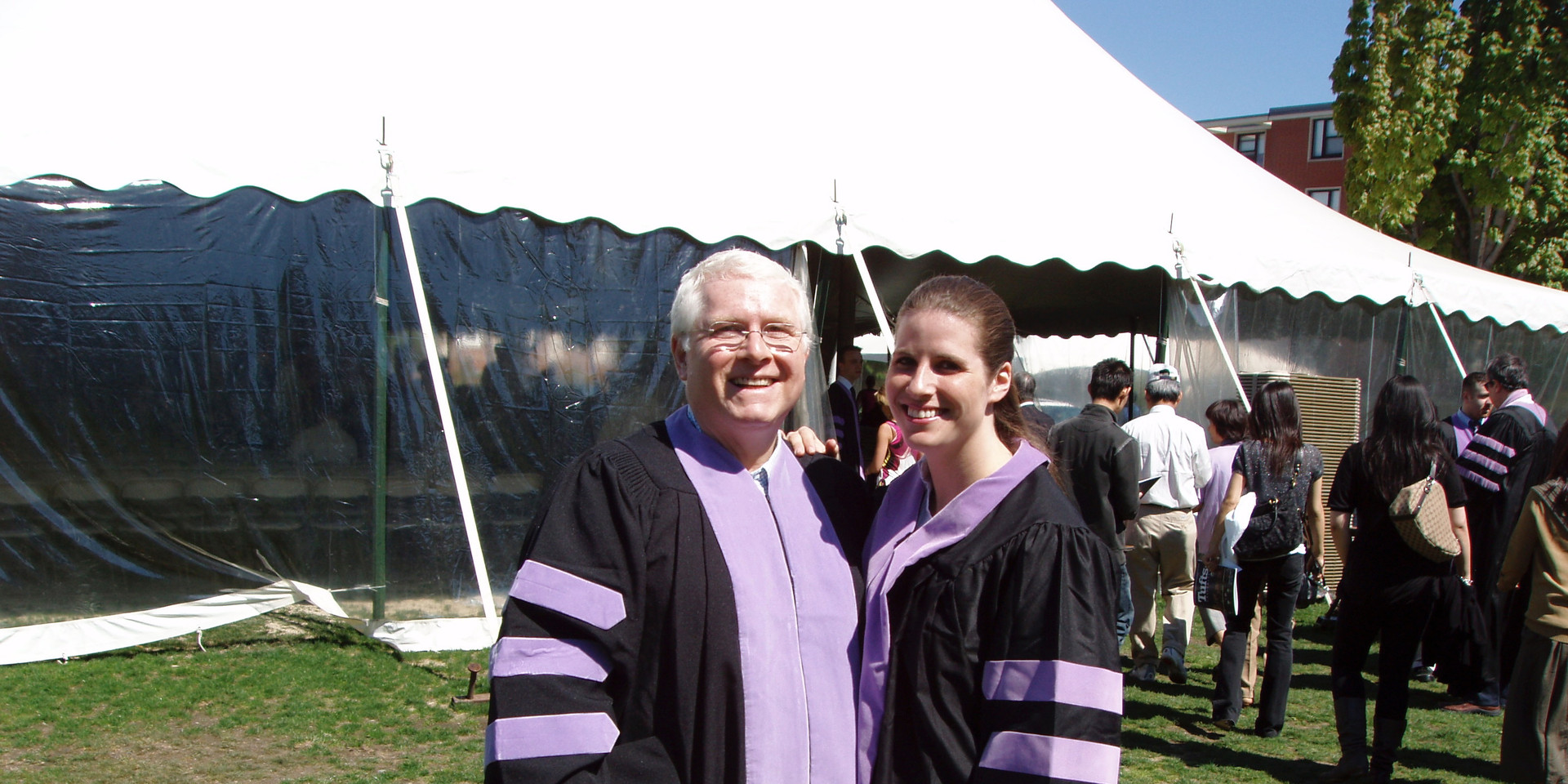 Dr. Nate and Dr. Heidi at Tufts Dental School graduation in 2008