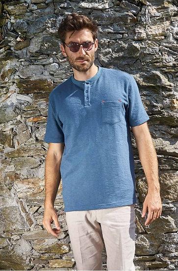 T-Shirt Jalheel aus Bio-Pima Baumwolle und Alpaka