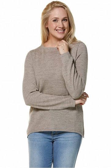 Pullover Basic 100% Baby Alpaka