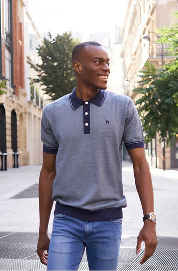 Polo-T-Shirt Diego  85% Bio-PIMA Baumwolle und 15% Royal-Alpaka