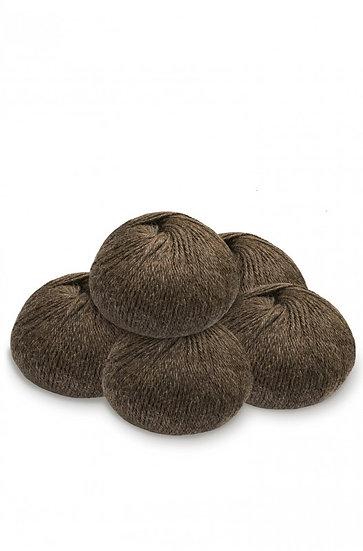 Strickwolle mokka 100% Baby Alpaka