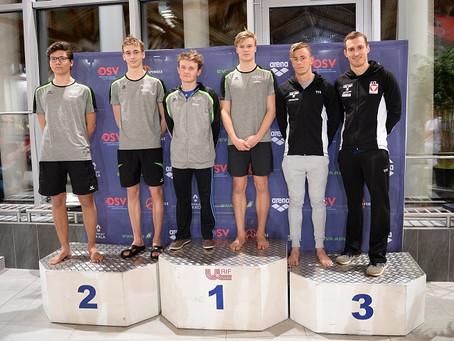 Steyrer Schwimmer erobern Platz 3 in Österreich