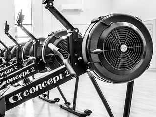 Indoor rowing: finding the right resistance level