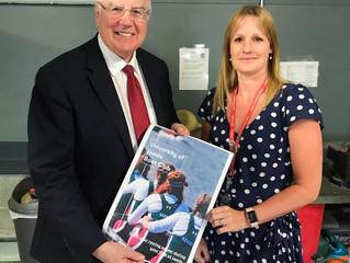 Sir Alan Langlands gives RowLeeds partnership a boost