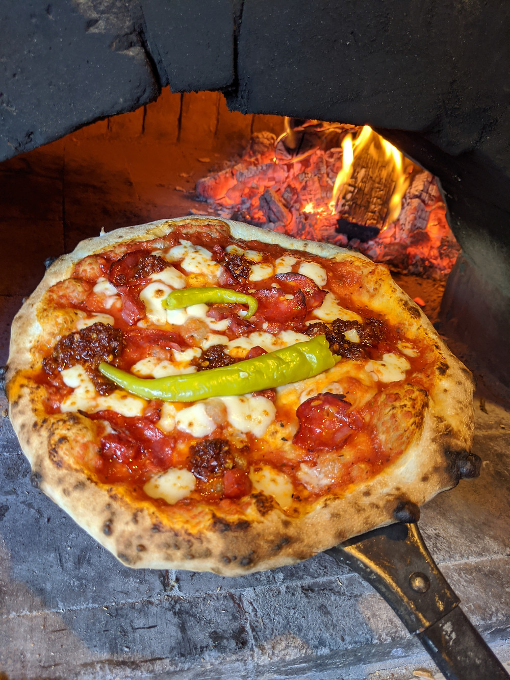 The flagship of the Embers Pizza range