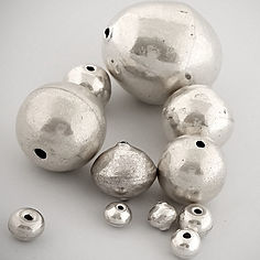 Round hollow beads edit