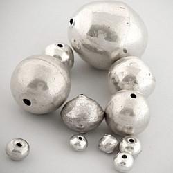 Round Hollow Beads