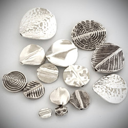 Flat Coin Beads