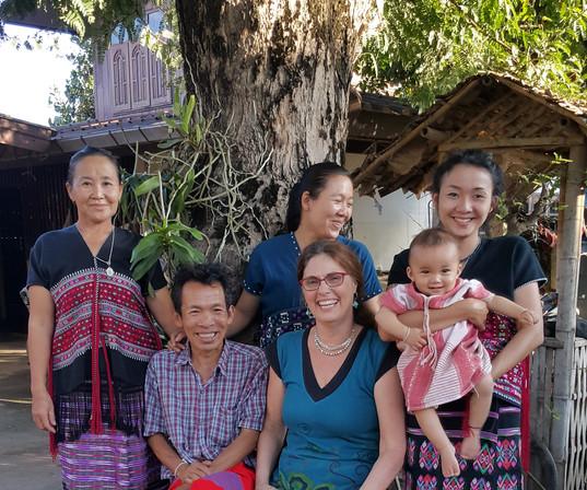 Niki with the family
