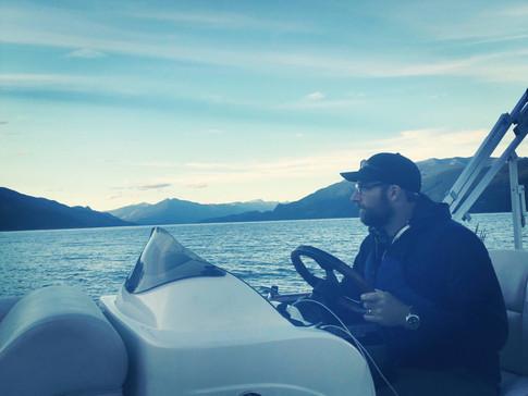 Captain Travis on Upper Arrow Lake