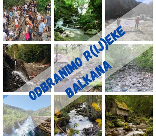 Veliki skup u Sarajevu: Ujedinjeni u borbi za r(ij)eke Balkana