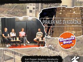 187: Karl Popper debata u Abraševiću + Piralen naš svagdašnji + Onomatobleja 155