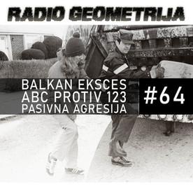 RG64: Balkan eksces: Top 5 / Mierle Laderman Ukeles / Pasivna agresija