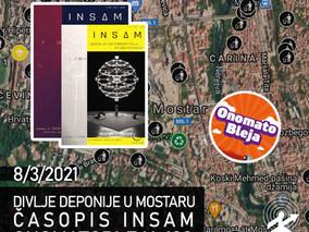 170: Mapa Uborak na našim ulicama + Časopis INSAM + Onomatobleja 138
