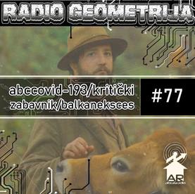 RG77: Jaime del Val / First Cow / Fiskalni račun+Štrajk mozga+Slepa Brena