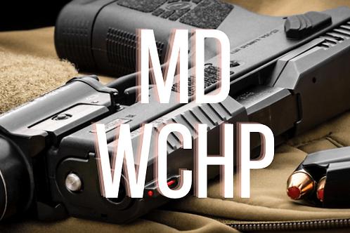 Maryland Wear/Carry Handgun Permit