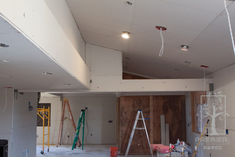 Drywall recessed lights