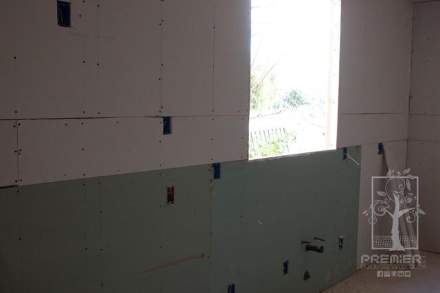 Drywall electrical windows