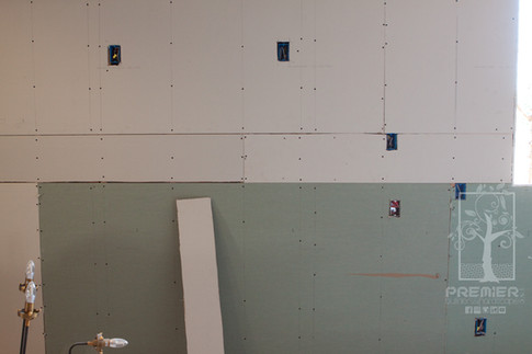 Drywall new electrical