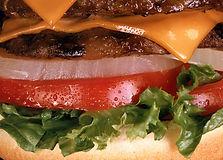 Burgers for picnics BBQ